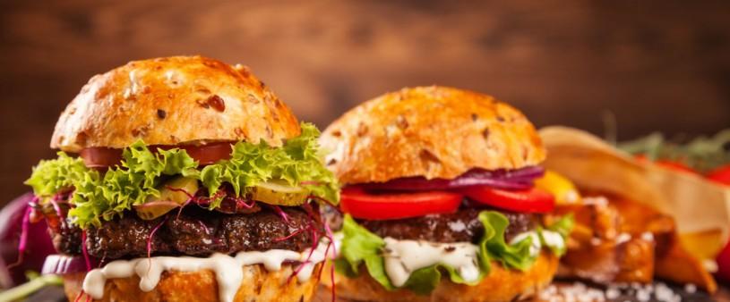Burger im Gasthof Sonne