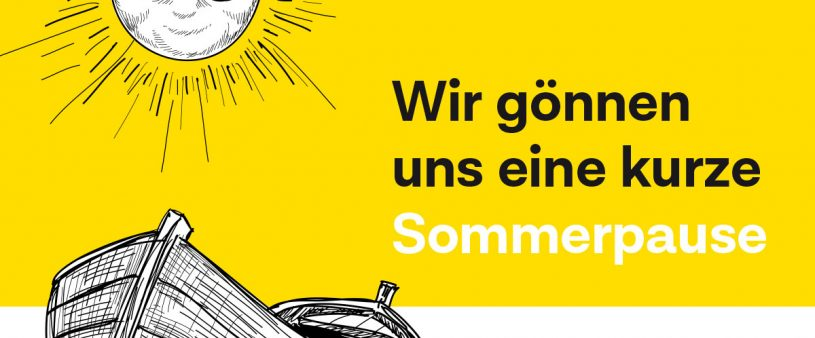 Sommerpause Gasthof Sonne