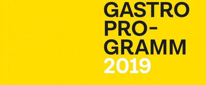 Gastroprogramm 2019 – Gasthof Sonne