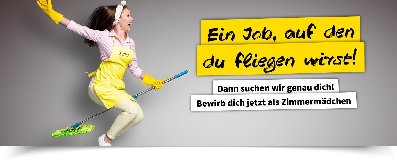 News Jobs Zimmermädchen Sonne