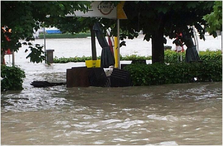 Gasthof Sonne Hochwasser