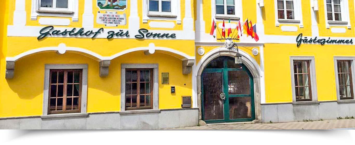 Sonne Hotel Gasthof Restaurant