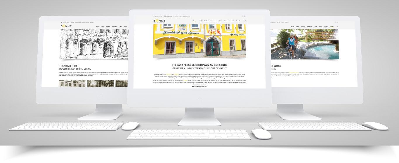 Wir sind online mit einer neuen Website